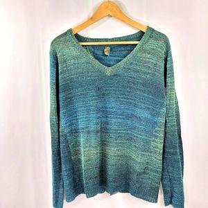 Prana Spacedye Open Back Sweater